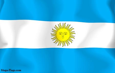 Picture of Argentina Flag
