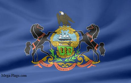 Pennsylvanian Flag PA Flag