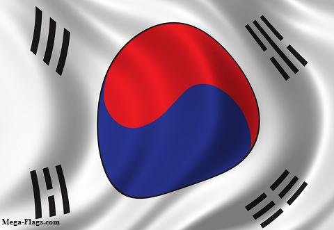 South Korean Flag, South Korea Flag