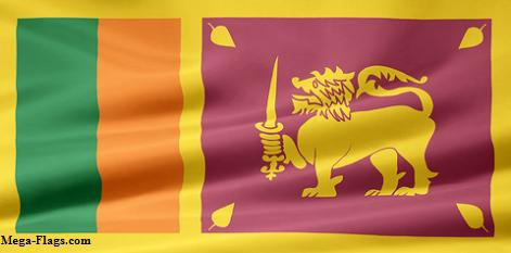 Flag of Sri Lanka, Sri Lankan Flag